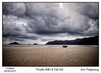 Thuyền Biển & Cát Gió