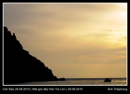 Côn Đảo, chiều về trên Hòn Tre Lớn