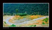 Một góc trên đèo Hòn Giao - Khánh Hòa