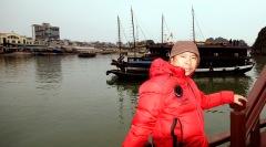 Trên Vịnh Hạ Long