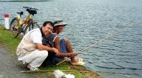 Câu cá bên hồ An Hải - Côn Đảo Vũng Tàu