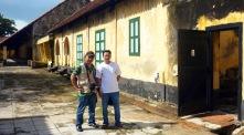 Bên trong nhà Tù Phú Hải - Côn Đảo