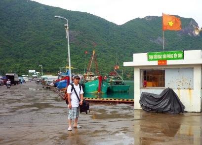 Trạm biên phòng cảng Bến Đầm