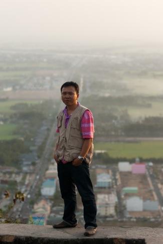 Trên đỉnh núi Bà Chúa Xứ - Châu Đốc An Giang